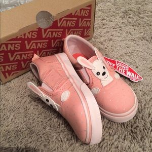 8cb239cb30b Vans Shoes - Vans Bunny slip on shoes-Easter